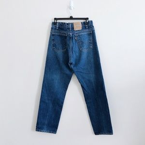 Vintage Levi's Orange Tab 505 Straight Mom Jeans
